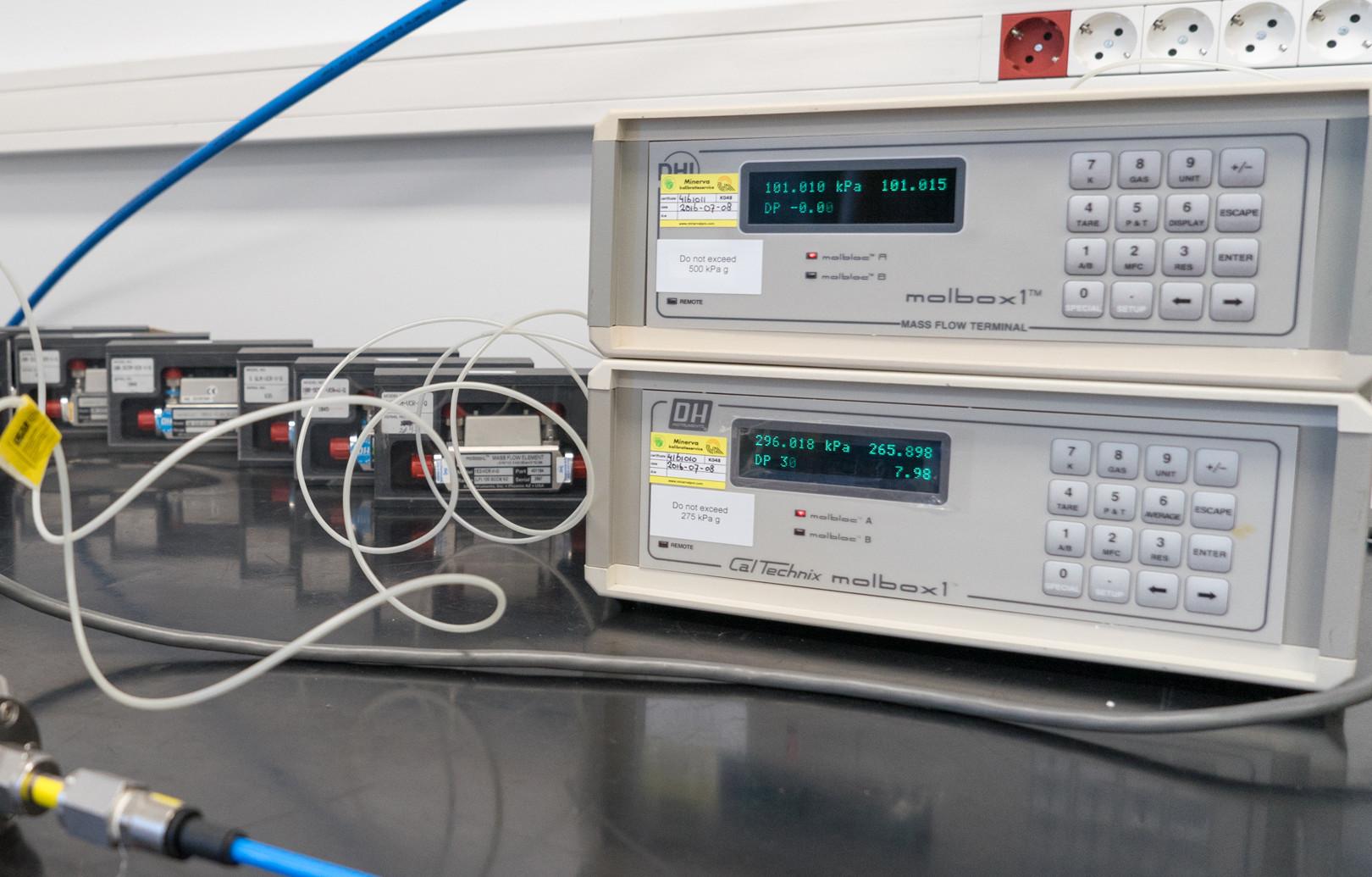 Calibración Caudal de gas